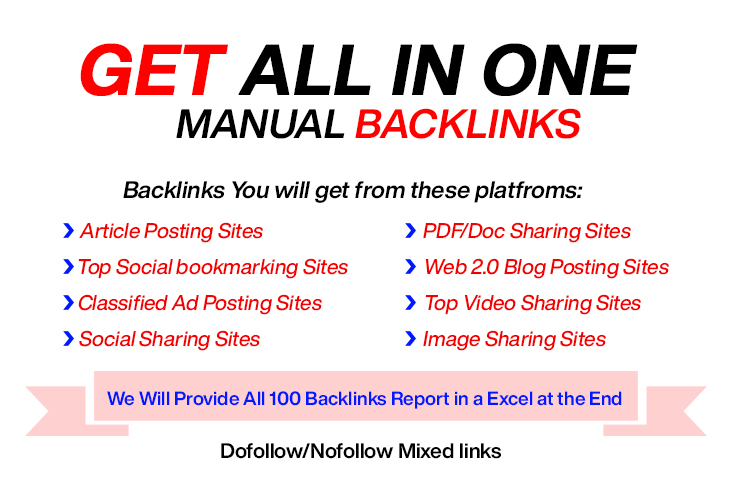 All in one SEO Manual Backlinks Building boost Your Ranking