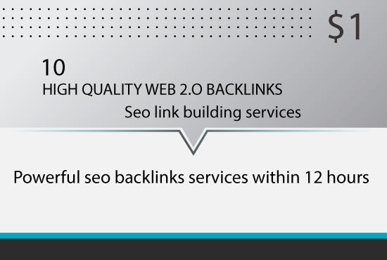10 Powerful Web 2.0 Backlinks within 12 hours