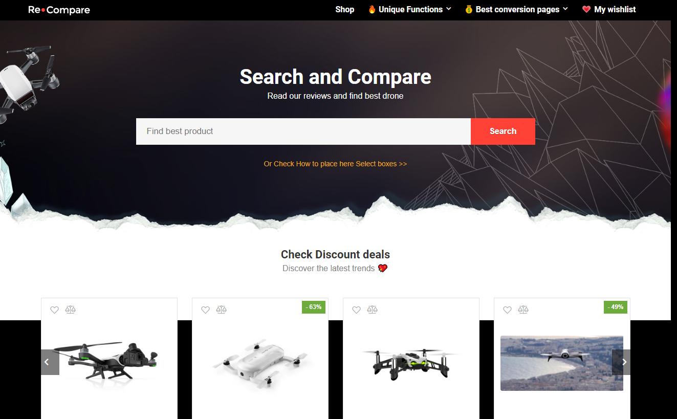 Professional Theme Wordpress affiliate and E-commerce - multi-Vendor theme
