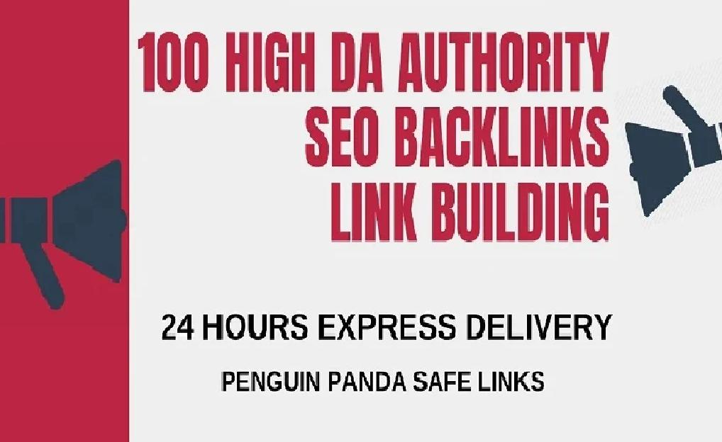 I will create 100 high pr backlinks,  tier seo link building