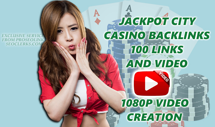 x10 Ranking Breaker Casino/gambling online x100 SEO Backlinks from x100 websites and 1080p video