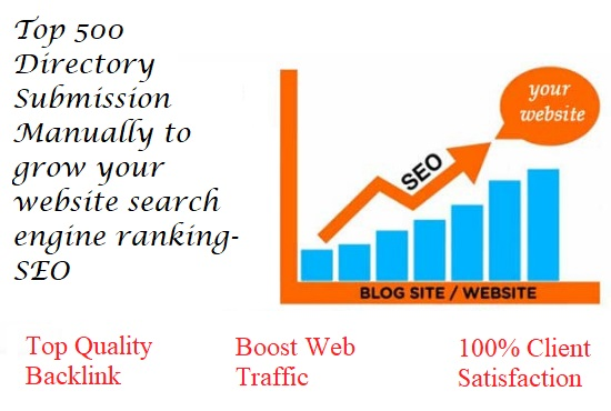 100 SEO-FRIENDLY DIRECTORY SUBMISSION SECVICE