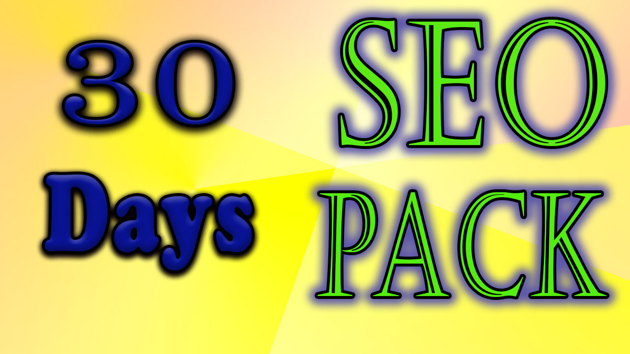 All in one latest monthly SEO package for boost your website