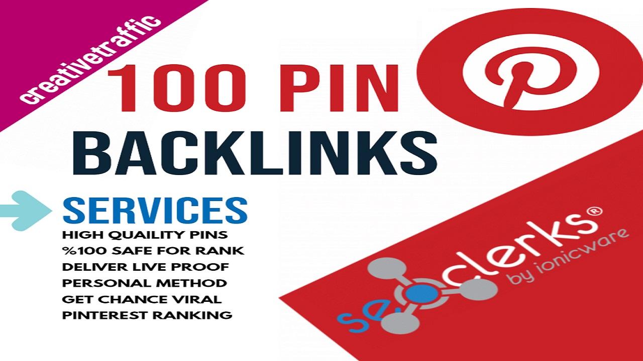 High-Quality 100 Pinterest Pin Backlinks 200 Facebook Social Signals