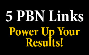I will create 5 homepage pbn backlinks high quality