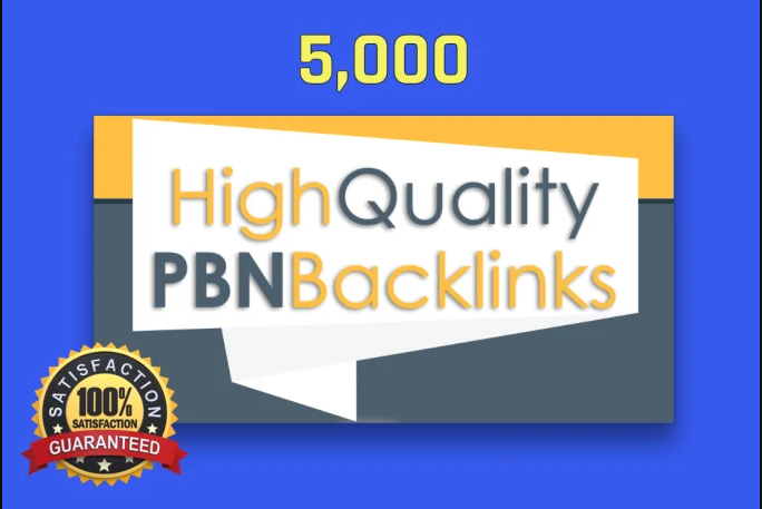 Provide 5000 Do-Follow PBN Backlinks with Keywords Best for Your Website and YouTube Video