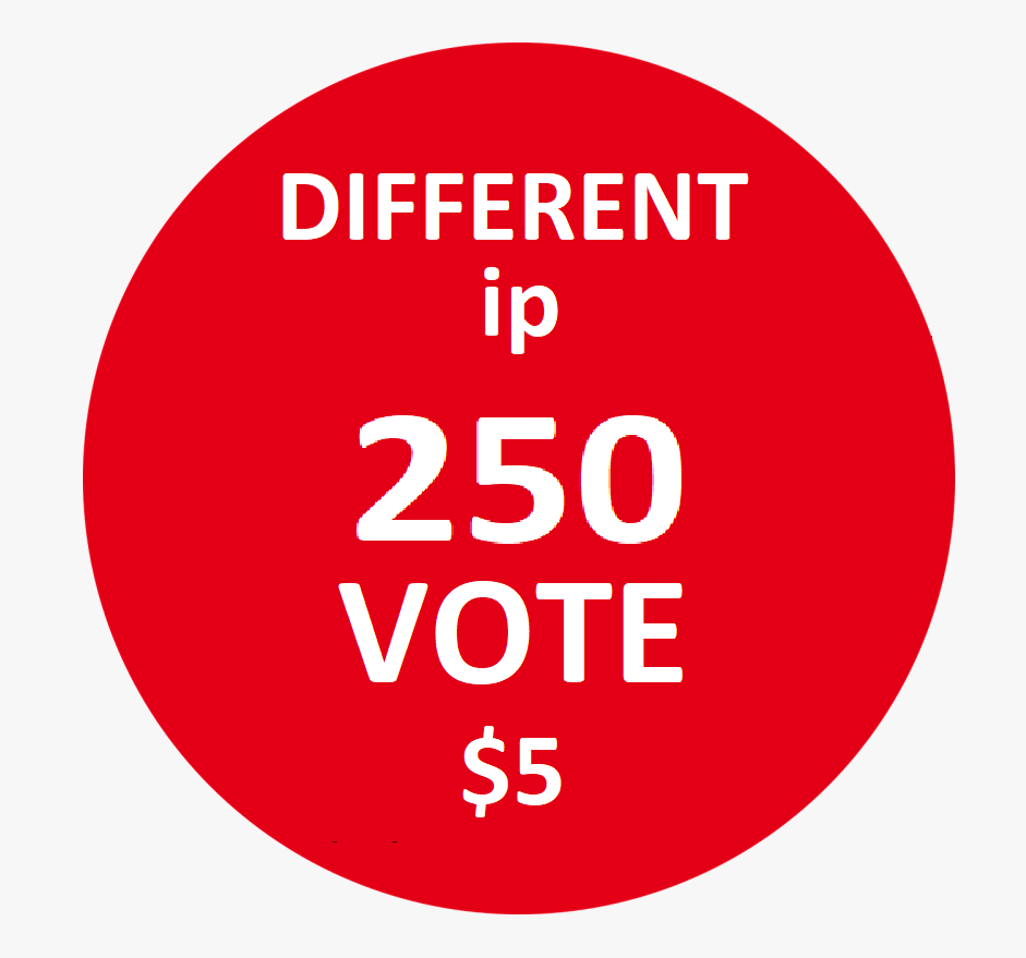 Happy to buy me 250 Different Ip Votes From Unique Ip Address