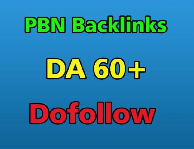 Manually create 50 high DA Homepage permanent PBN Dofollow backlinks