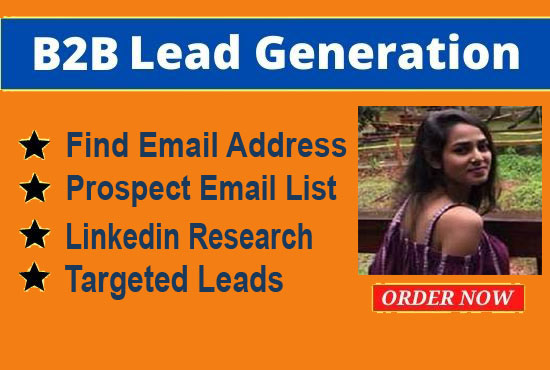 I Will Do 1k Verified B2B Lead Generation and Email List Building
