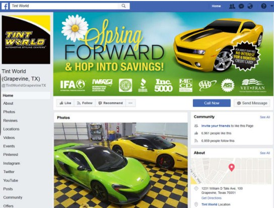 I will setup your business facebook page