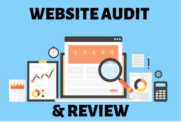 Website Audit and Review Report