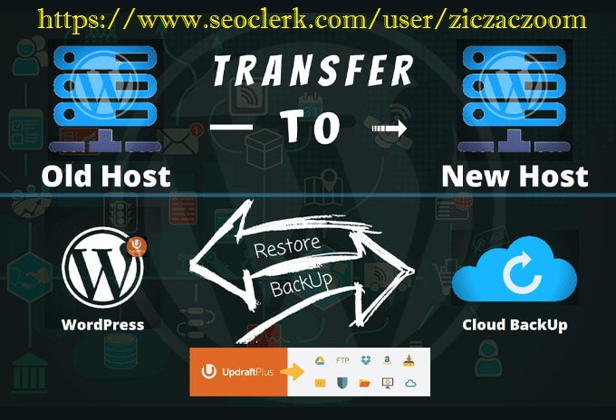 Migrate Clone Transfer Move Wordpress or Html site to New Web-Hosting