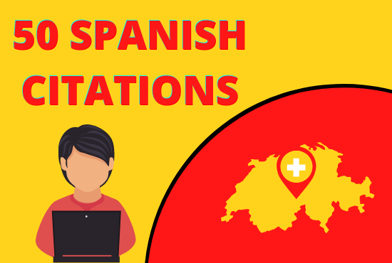 I will do 50 best spanish local citation links for spain local SEO