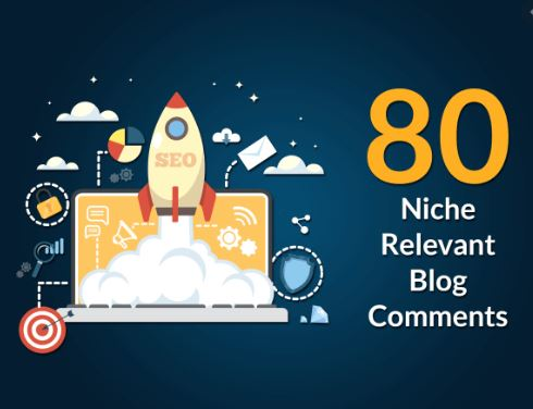 I will create 80 niche blog comments backlinks on high da PA