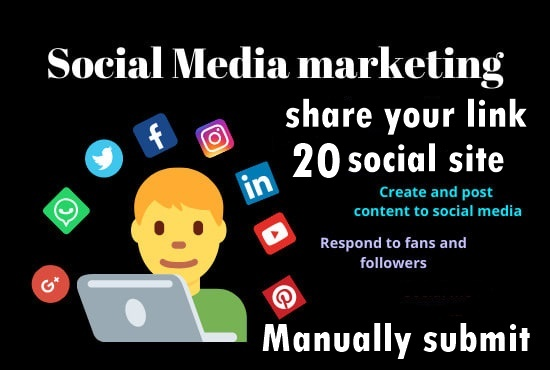 Share your Link Top 20 social media-Top website marketing service in Seocheckout