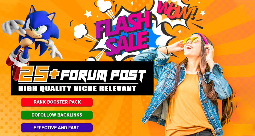 Boost your Rank With 25 HQ Niche Relevant Forum Posting