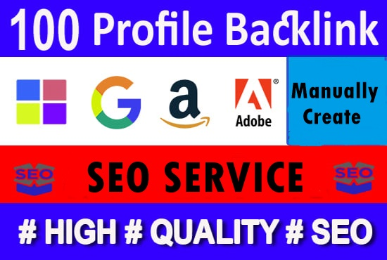 100+ high quality profile backlinks-High DA PA Backlinks-Top service in Seocheckout