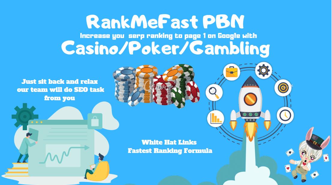 RankMeFast PBN Casino Poker Judi Gambling