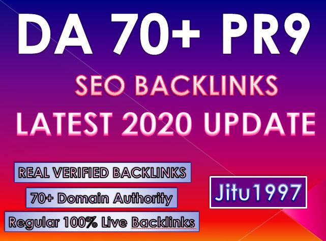 20 DA70+ PR9 High DA Backlinks Latest Update