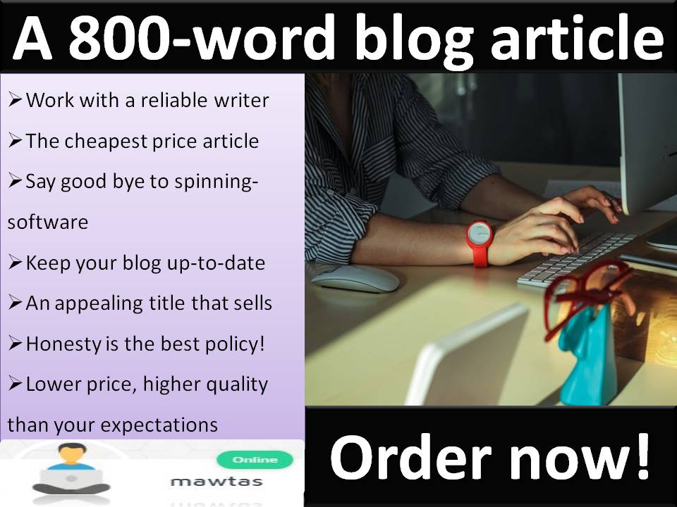 800-Word Creative & Informative Blog Article