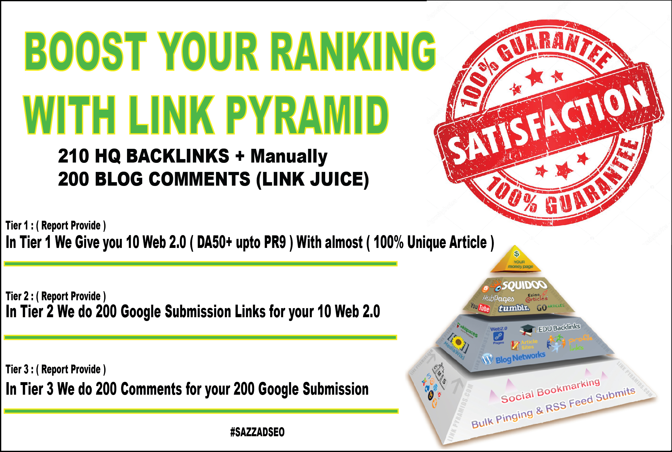 Boost Your Site On Top Of Google with link pyramid