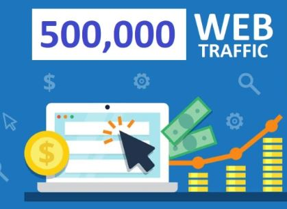 We Drive 500 000 website visitors mostly USA and EU with tracking stats