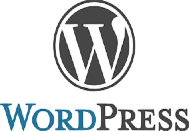 Wordpress Website Development and Theme Customization