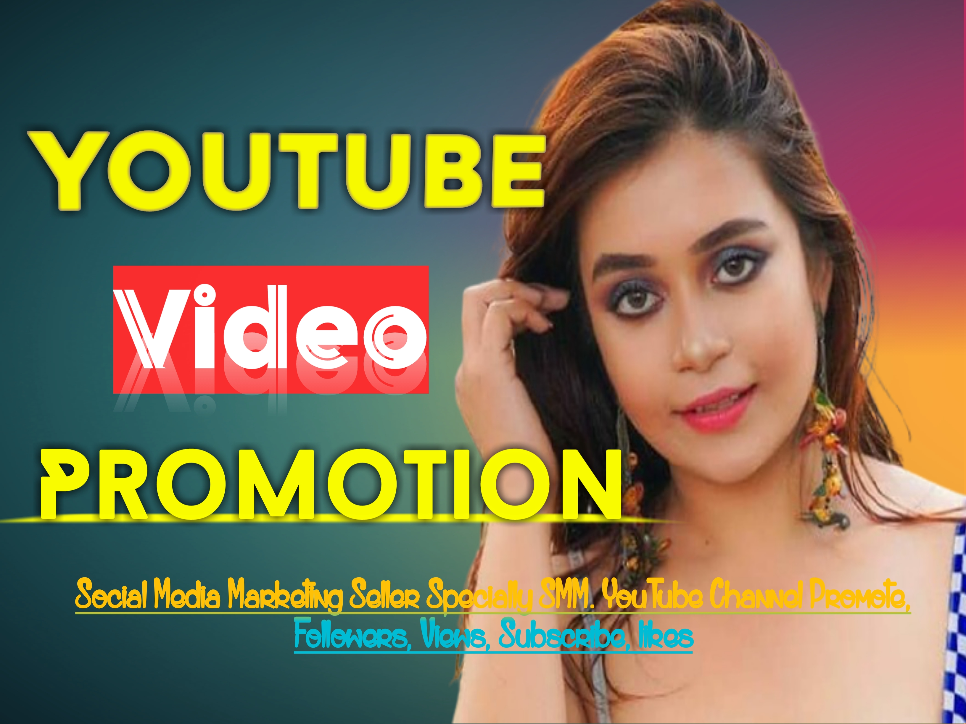 Manually Add YouTube Video Promotion all Package Instantly