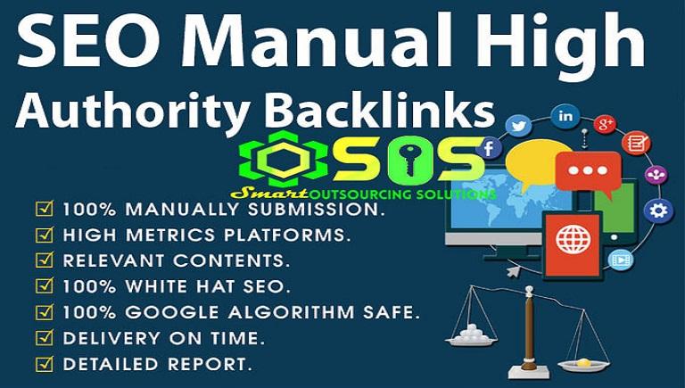 SEO Manual High Authority Backlink PYRAMID