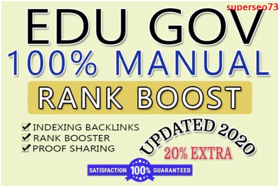 200 EDU High Authority Dofollow Backlinks.