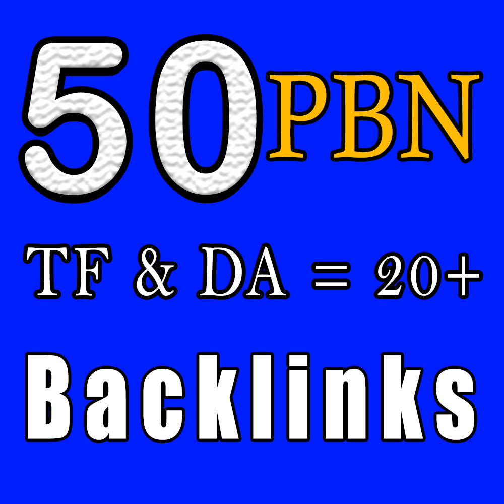 Boost Your Website Ranking With 50 DA 20+ PBN Backlinks Improving Your SEO,  Manual Work Guaranteed