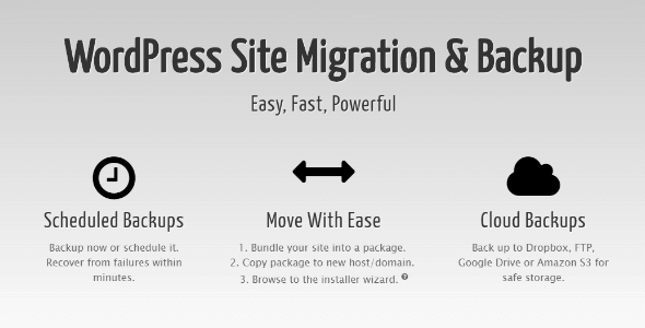 Get Duplicator Pro to migrate/Backup your wordpress website