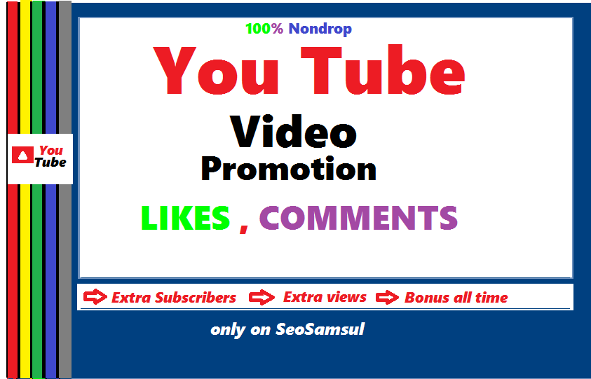 Real Non Drop YouTube chanel and video promotion