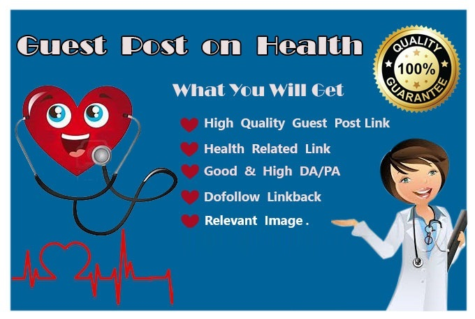 Publish Guest Post on Health Related 10 Website DA 30+