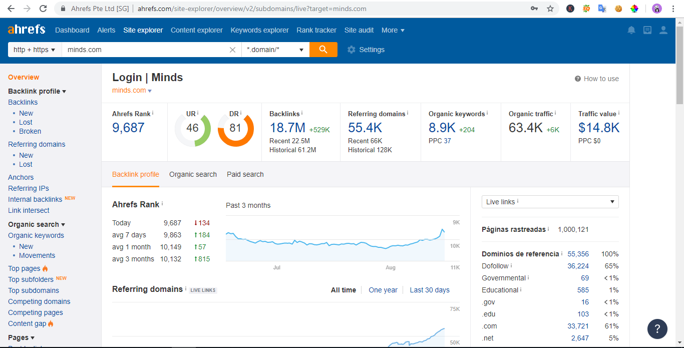 I will Give You Ahrefs SEO Report with MS Excel