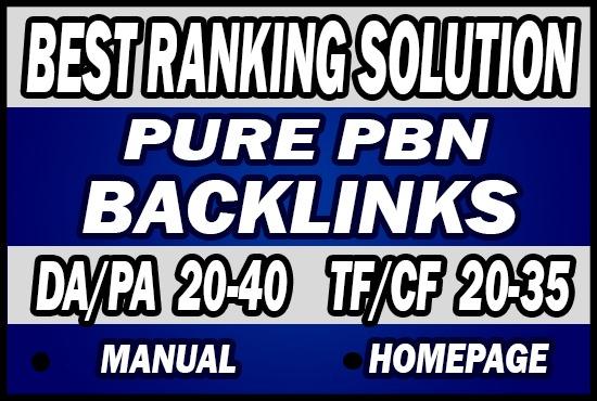Do 70 Permanent Pure PBN Backlinks