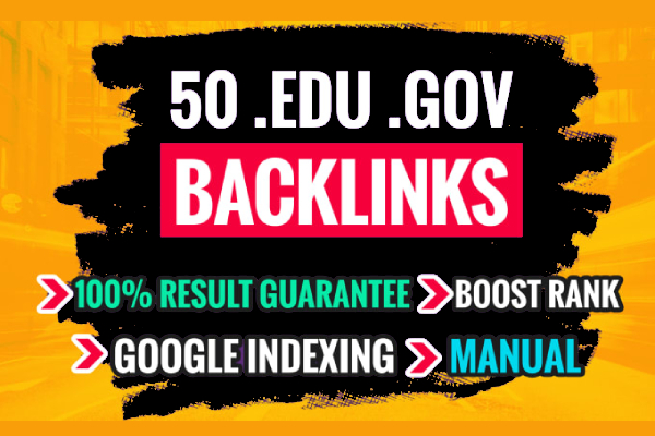 Do 50 edu and gov DOFOLLOW Backlinks Improve Google SEO With Perfect links