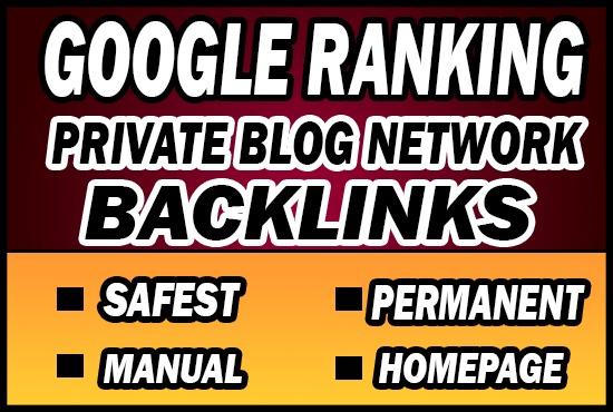 Provide 50 PBN (Private Blog Network) Backlinks