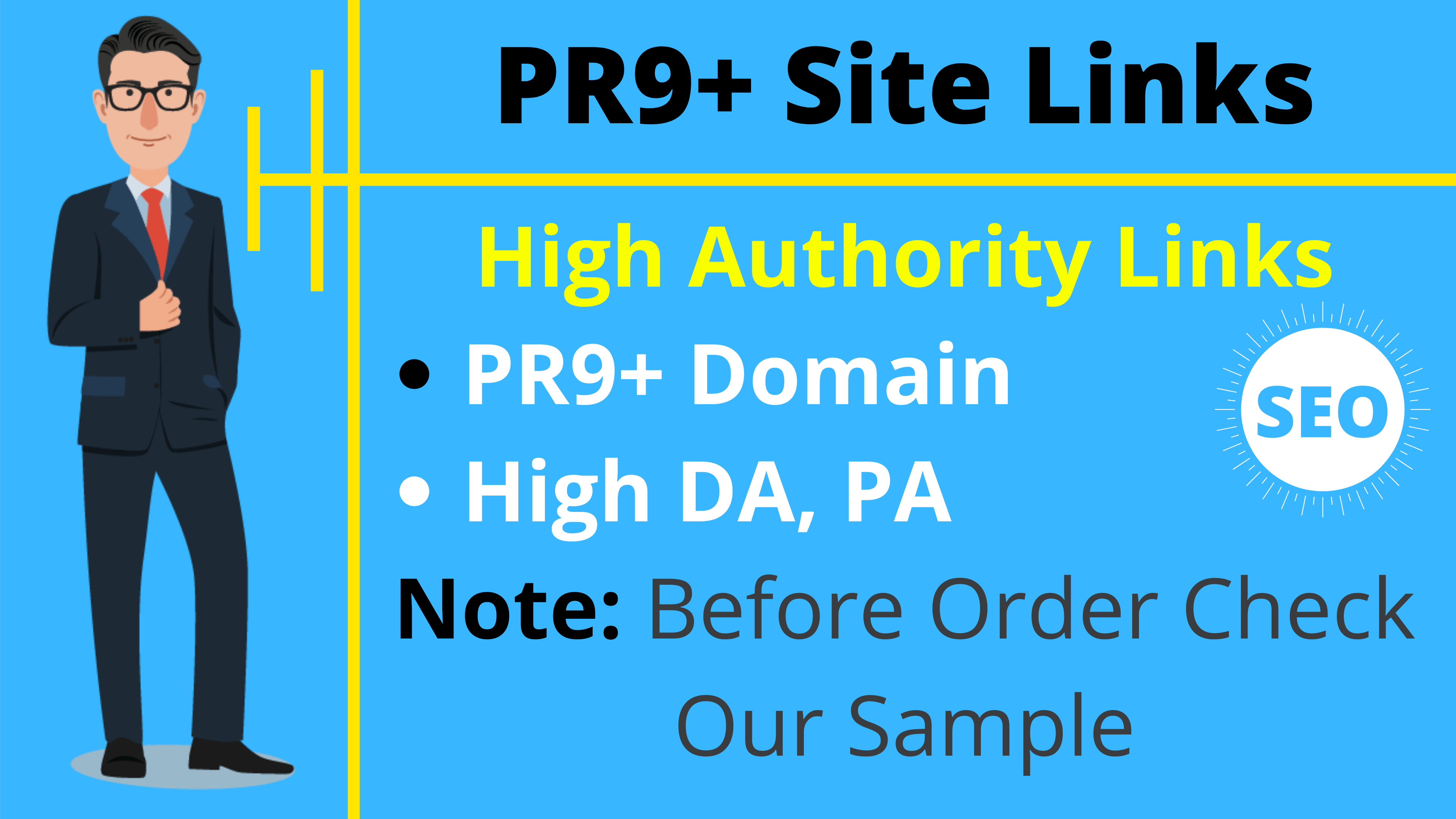 PR9 And 70+ High Domain Authority 5 SEO Cheap Backlinks