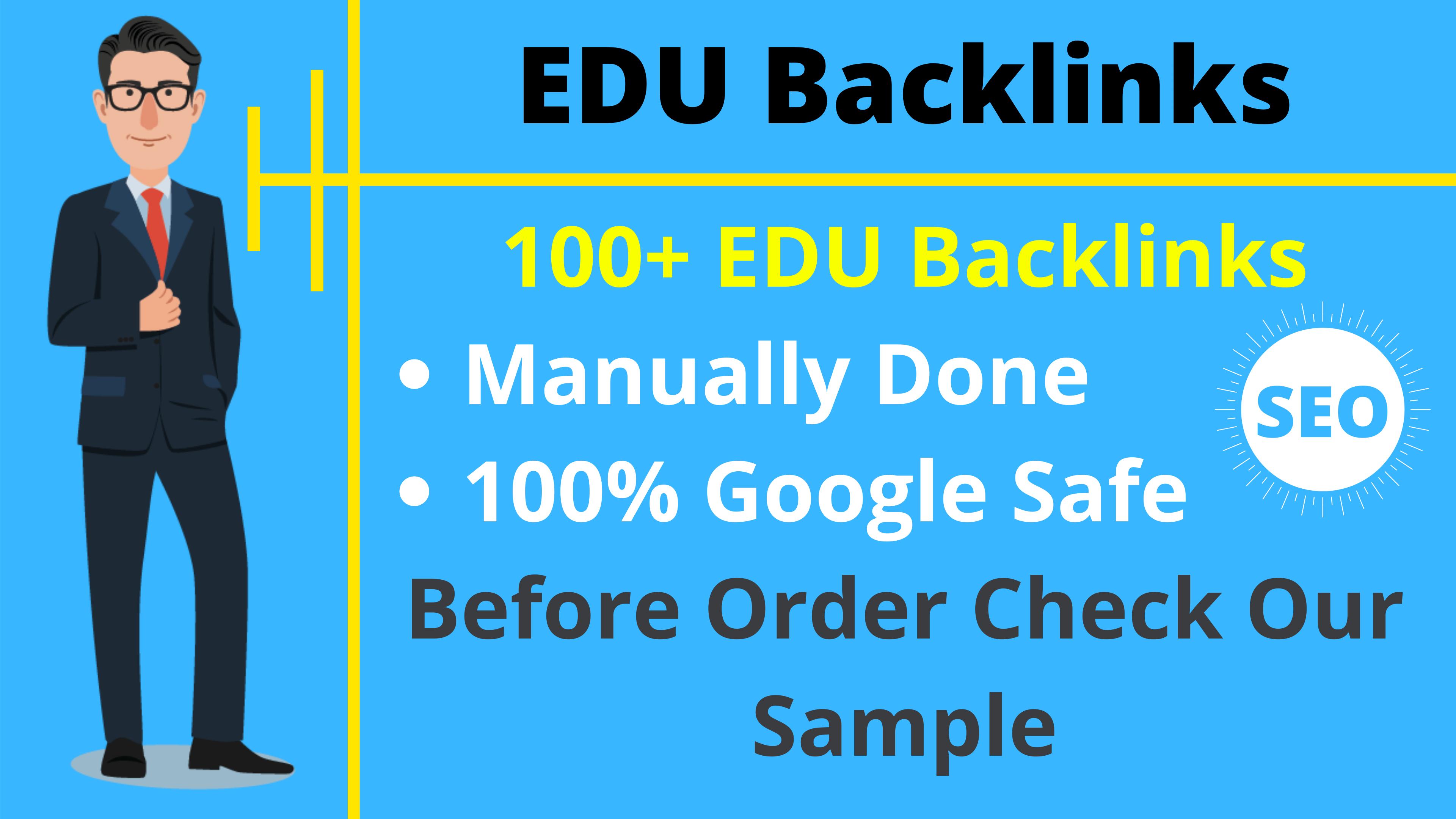 100+ EDU Site Backlink Cheap Price Limited Time Offer SEO Backlinks