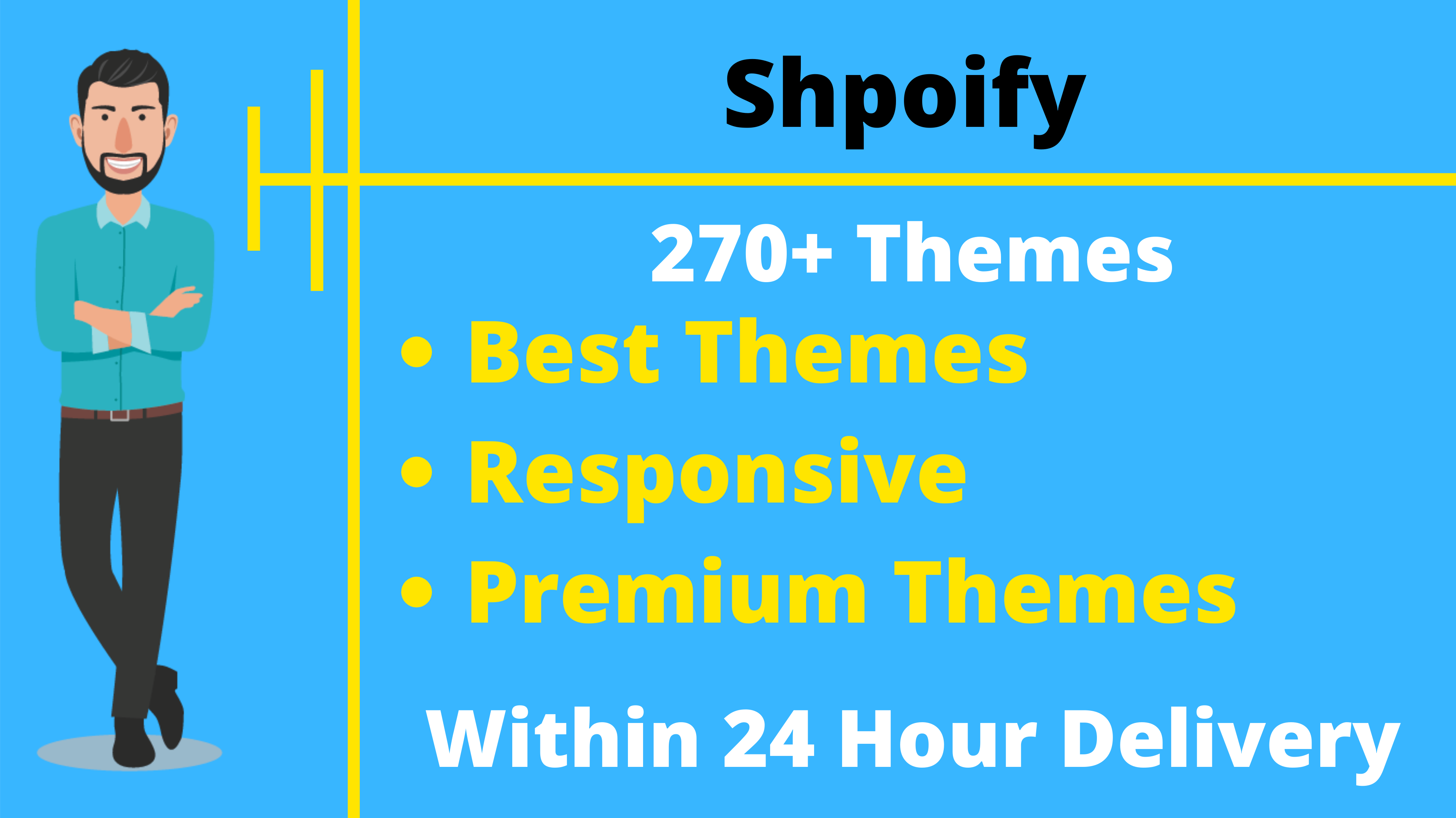 250+ Premium Shopify Store Themes & Templates