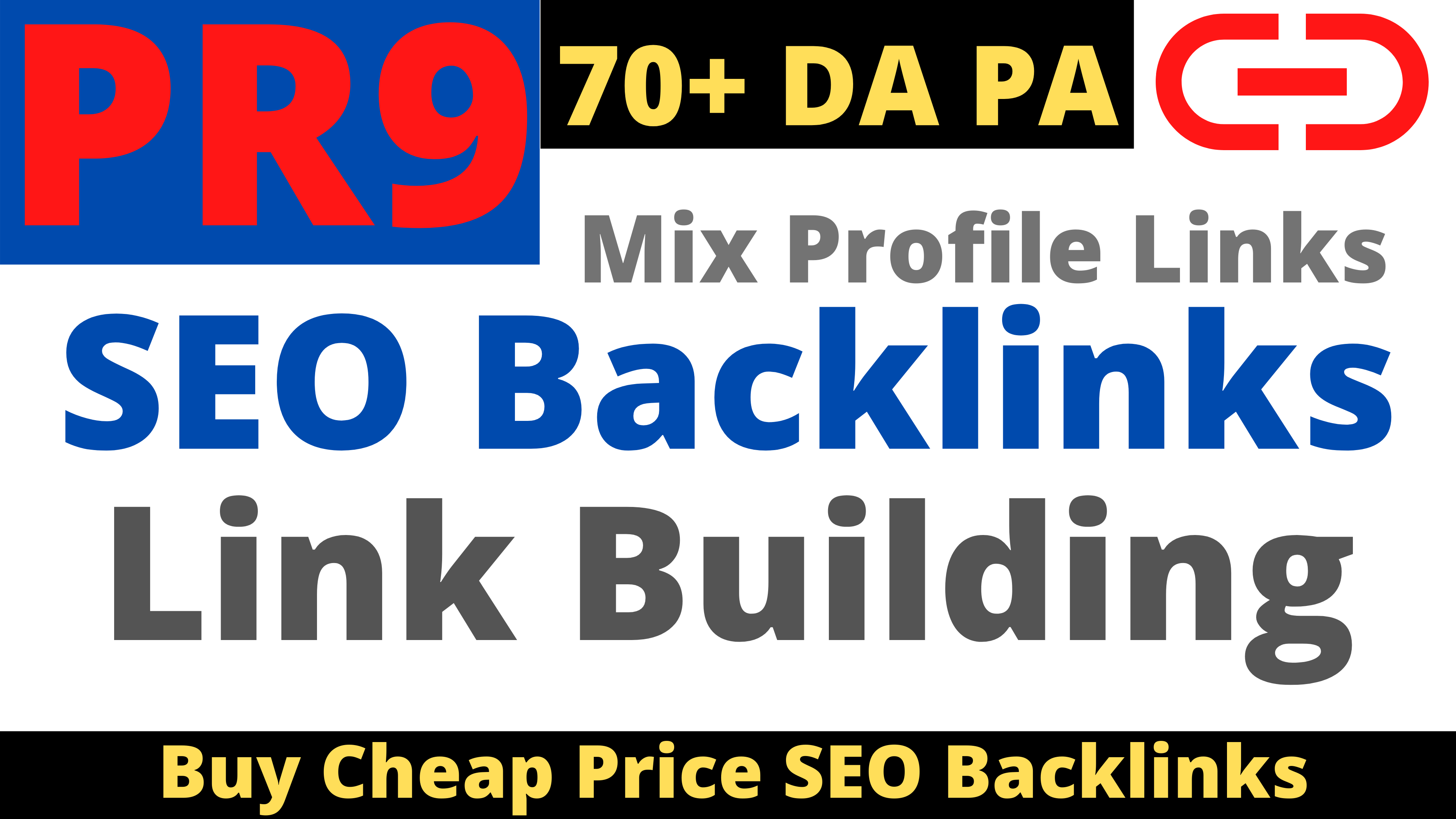 PR9 And 70+ High Domain Authority 5 SEO Cheap Backlinks