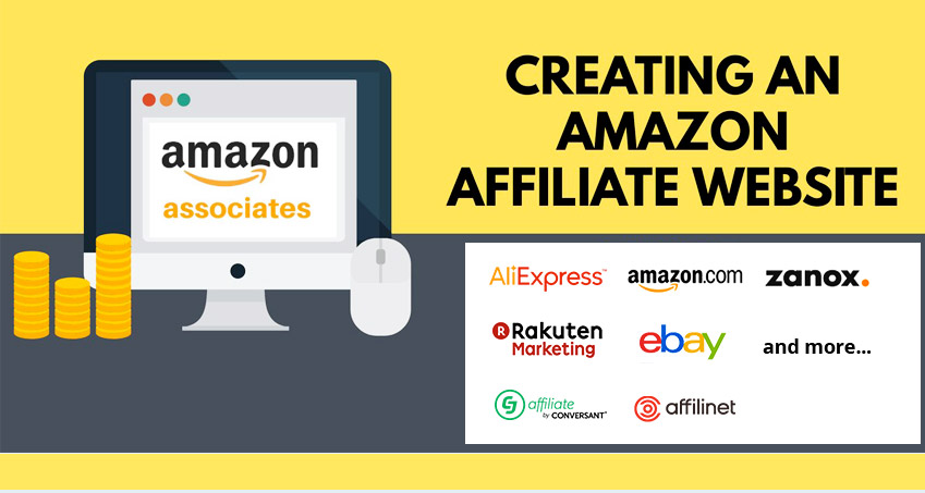 Create an Amazon store Affiliate WordPress Website that content auto posting.