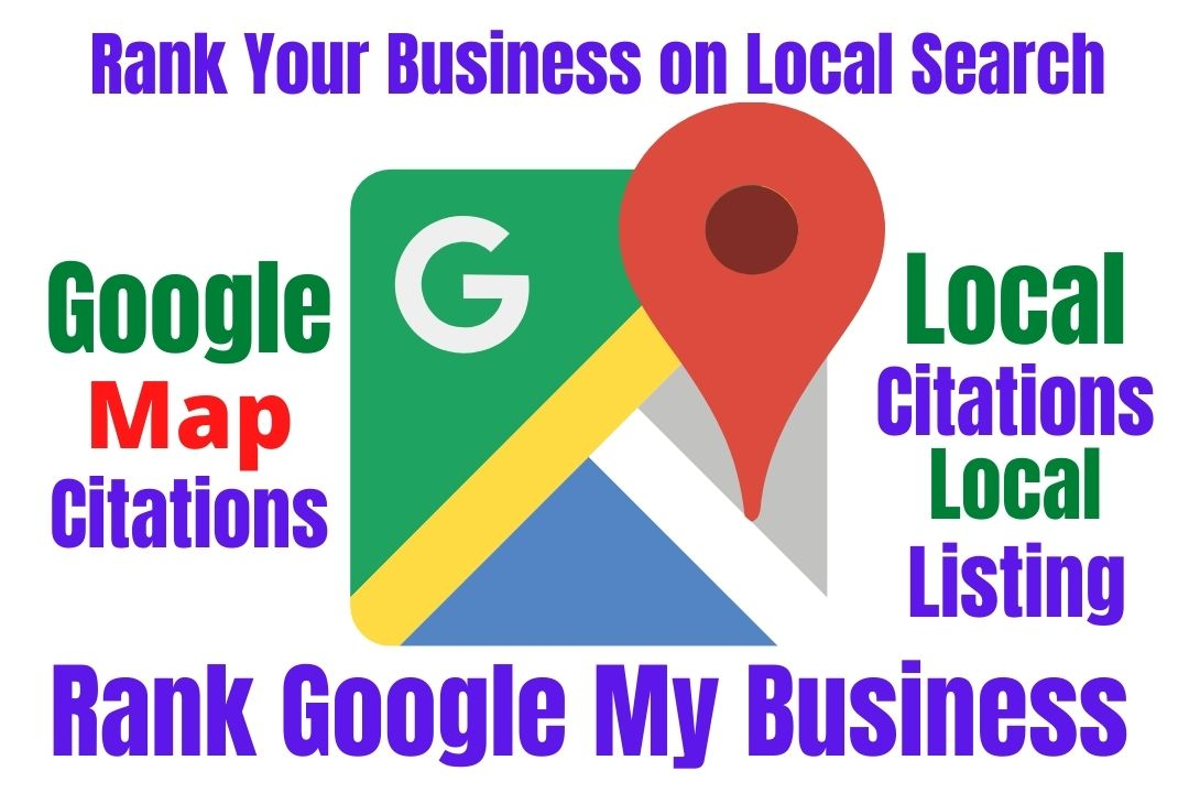 I will do google map citation and local citations for local seo