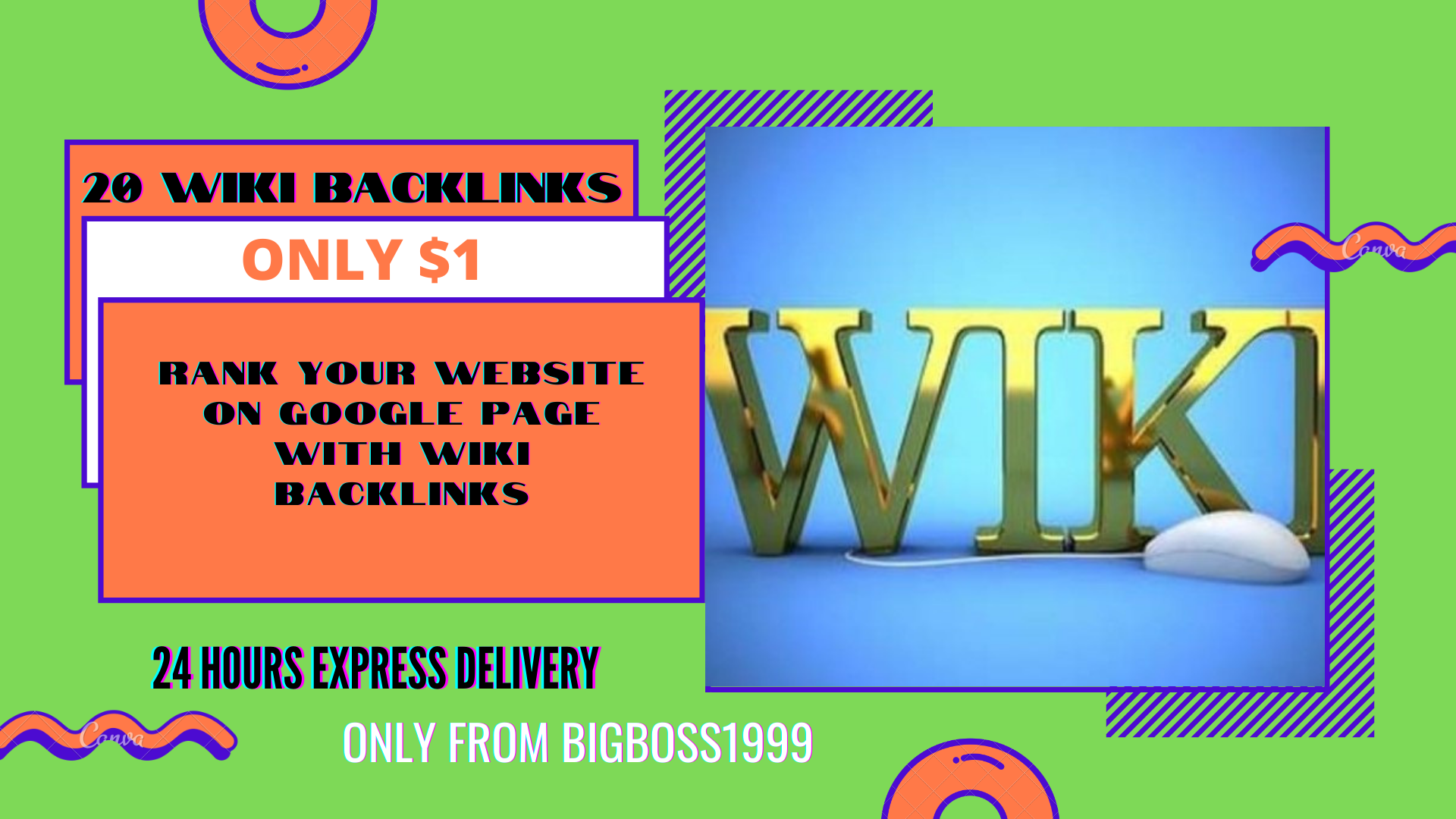 I will manually do 20 High Authority WIKI permanent Backlinks