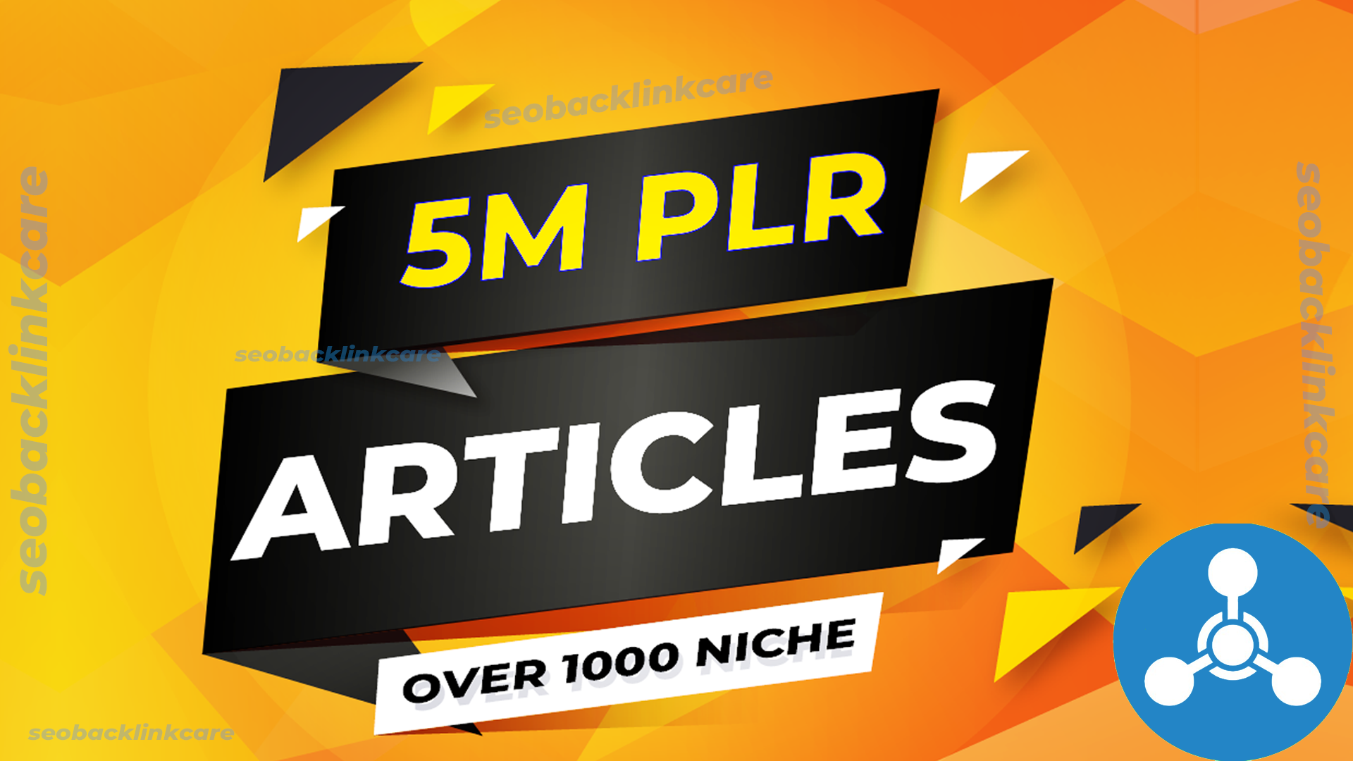 Provide 5 MILLION PLR articles collection over 1000 niches for Website/blog post