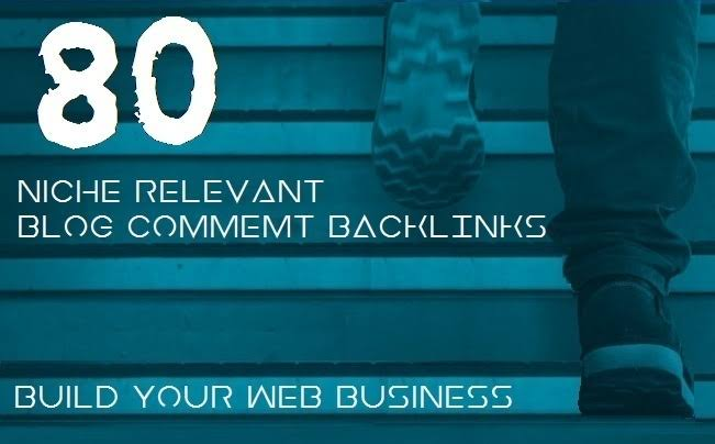 Provide a great 80 Niche Related Blog Comment