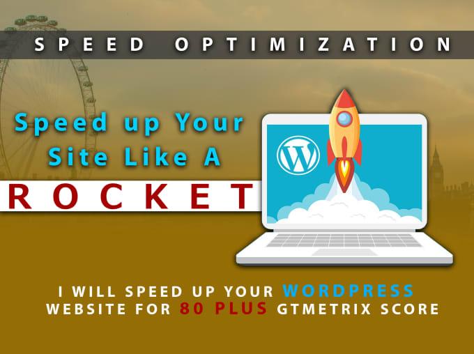 I will increase your website speed on Gtmetrix