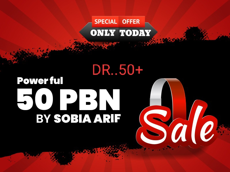 I will create 50 permanent high dr 50+ pbn links