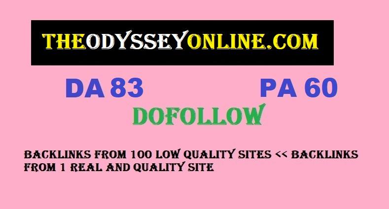 Guest Post on THEODYSSEYONLINE. COM DA83 PA60